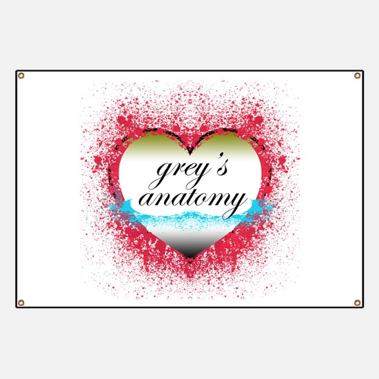 Heart Grey's Anatomy T-Shirts Banner