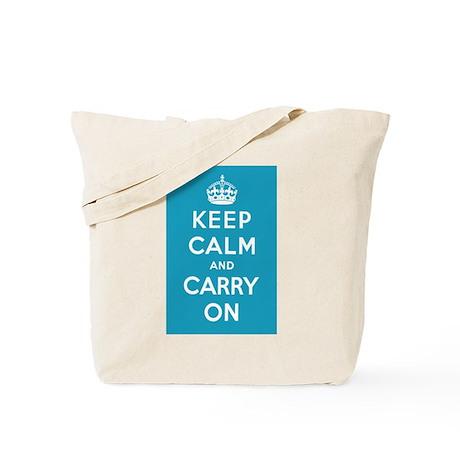 Caribbean Blue Tote Bag