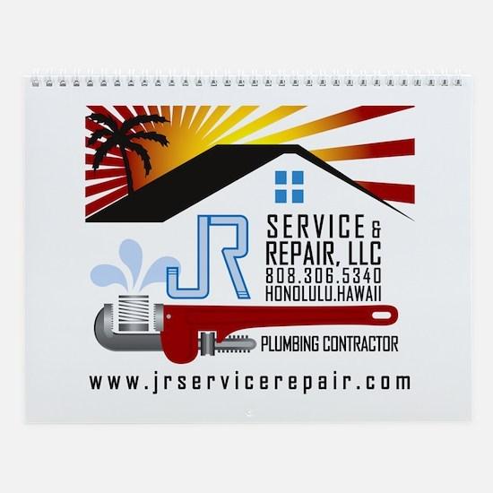 JR Service and Repair Wall Calendar