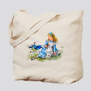 WHITE RABBIT - FOLLOW ME Tote Bag