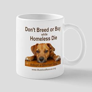 Adopt a Shelter Dog Mug