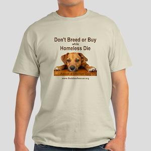 Adopt a Shelter Dog Light T-Shirt