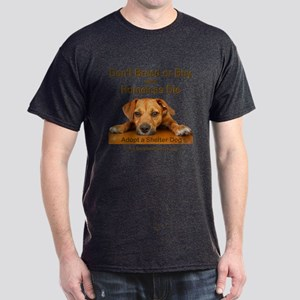 Adopt a Shelter Dog Dark T-Shirt