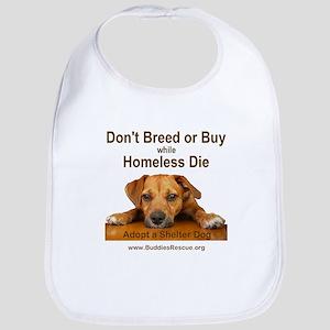 Adopt a Shelter Dog Bib