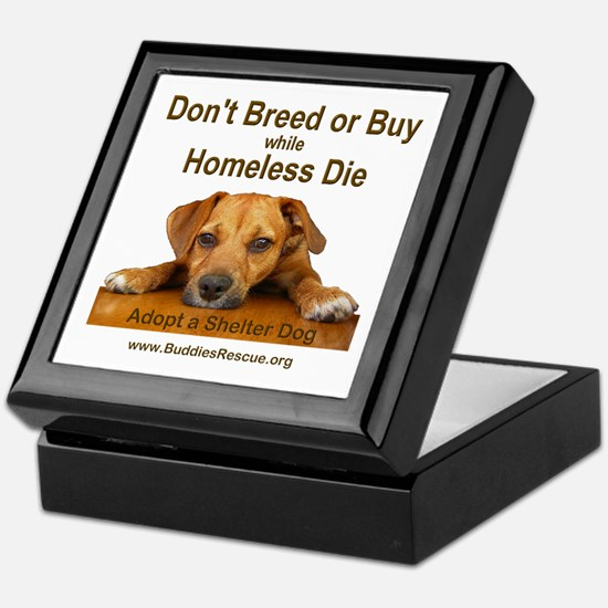 Adopt a Shelter Dog Keepsake Box