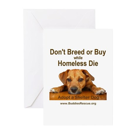 Adopt a Shelter Dog Greeting Cards (Pk of 10)