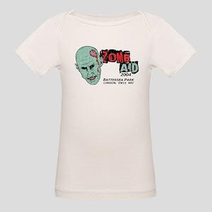 Zombaid Aid Shaun Dead Organic Baby T-Shirt