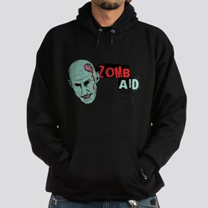 Zombaid Aid Shaun Dead Hoodie (dark)