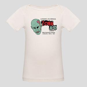 ZombAid Shaun Dead Organic Baby T-Shirt