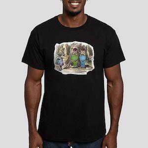 Tweedledum and Tweedledee Men's Fitted T-Shirt (da
