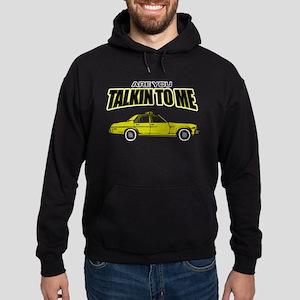 Movie Humor Taxi Driver Hoodie (dark)