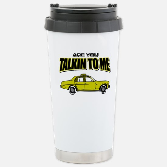 Movie Humor Taxi Driver Stainless Steel Travel Mug