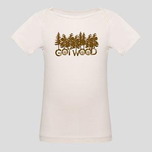Shaun Dead Got Wood Organic Baby T-Shirt