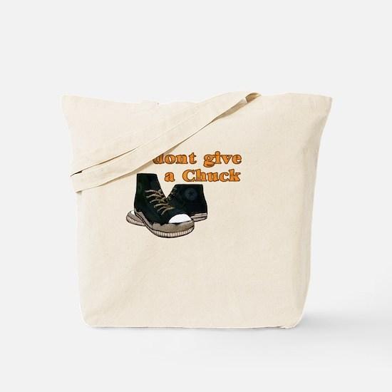 I Don't Give a Chuck Shoe Tote Bag