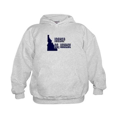 Idaho No Udaho Kids Hoodie