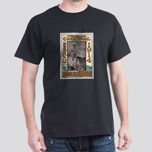 The Duke Hawaii's #1 Surfer Black T-Shirt