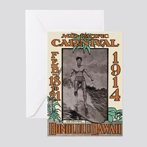 The Duke Hawaii's #1 Surfer Greeting Cards (Packag