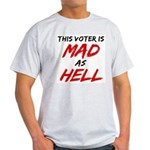 MAD AS HELL b Light T-Shirt