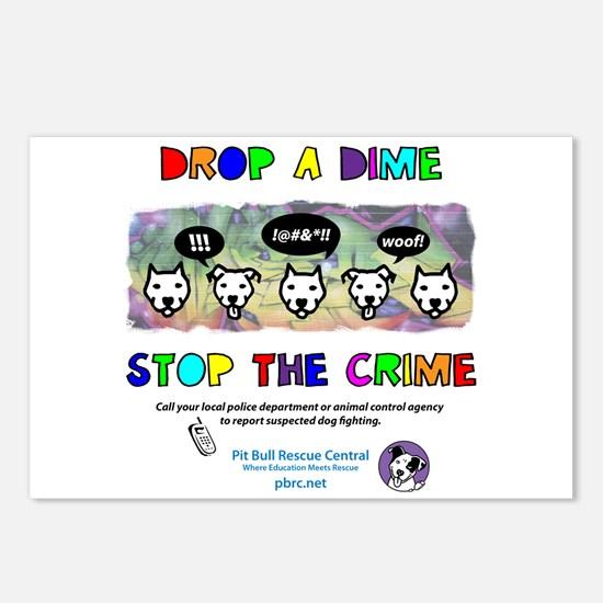 Drop A Dime Postcards (Package of 8)