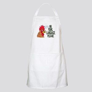 No Fowl Language Apron