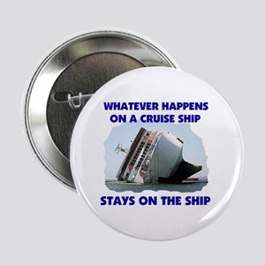 """GETTIN ROUGH OUT THERE 2.25"""" Button (10 pack)"""