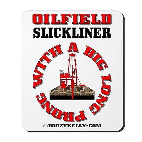 Beau Slickline Prong Mousepad,Oil,Gas,Rigs