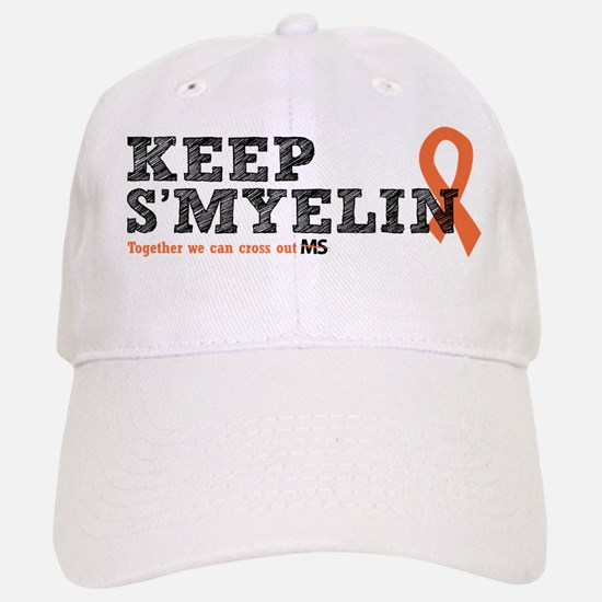 MS/Multiple Sclerosis Baseball Baseball Cap