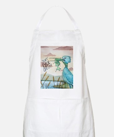 Don't Ever Give Up! Apron