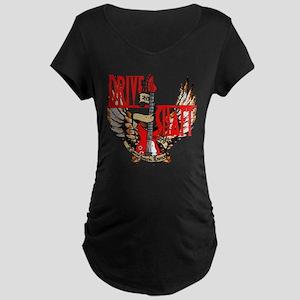 Drive Shaft LOST Black Maternity Dark T-Shirt
