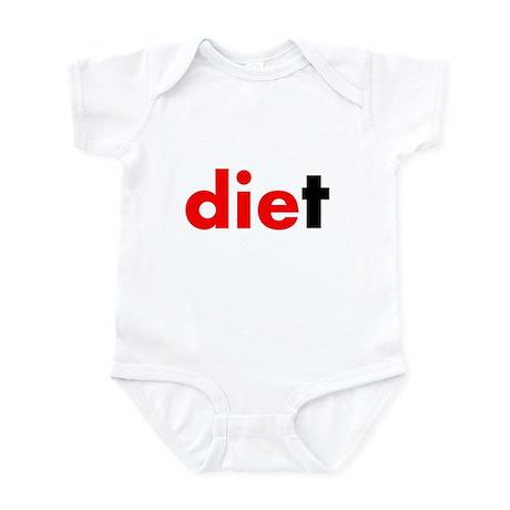 die diet Infant Bodysuit