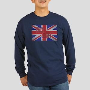 Drive Shaft LOST Blue Long Sleeve Dark T-Shirt