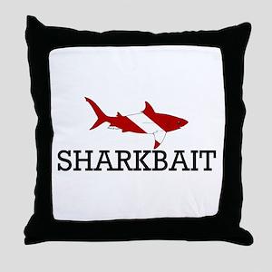 Sharkbait Throw Pillow