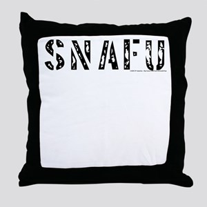 SNAFU - Throw Pillow
