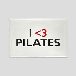 I <3 Pilates Rectangle Magnet