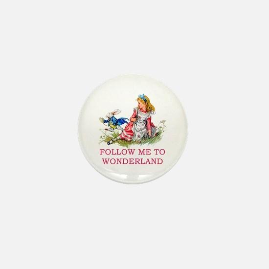 ALICE - Follow Me To Wonderland Mini Button