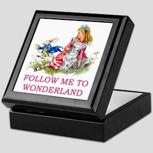 ALICE - Follow Me To Wonderland Keepsake Box