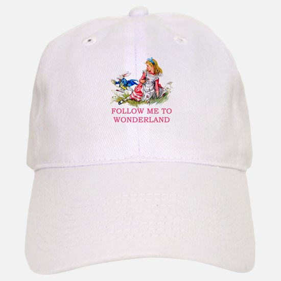ALICE - Follow Me To Wonderland Baseball Baseball Cap