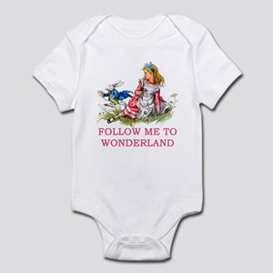 ALICE - Follow Me To Wonderland Infant Bodysuit