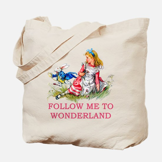 ALICE - Follow Me To Wonderland Tote Bag