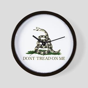 Don't Tread On Me - Wall Clock