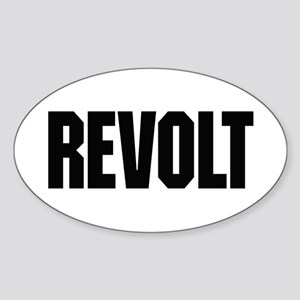 Revolt Sticker (Oval)