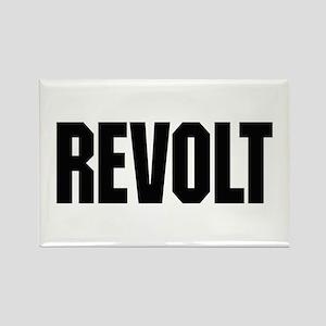 Revolt Rectangle Magnet