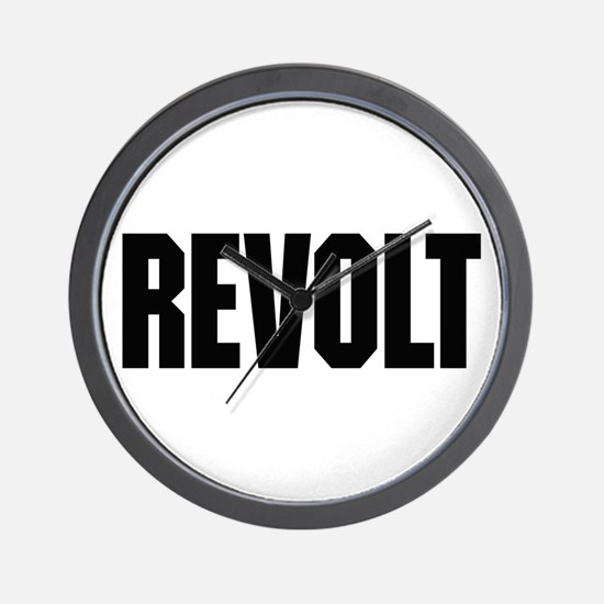 Revolt Wall Clock