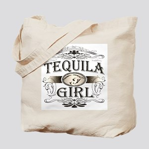 Tequila Girl Buckle Tote Bag