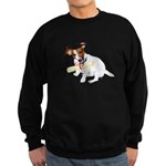 Jack Russell Graduation Design on Sweatshirt (dark