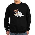 Jack Russell Graduation Design on Sweatshirt (dark