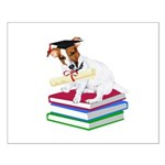 Jack Russell Terrier Graduation Small Poster