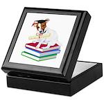 Jack Russell Terrier Graduation Keepsake Box