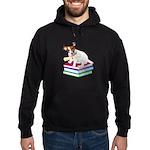 Jack Russell Terrier Graduation Hoodie (dark)