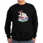 Jack Russell Terrier Graduation Sweatshirt (dark)